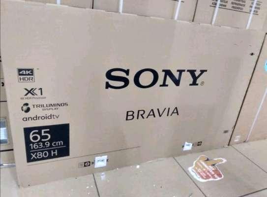 65 SONY Smart UHD 4K LED TV - New Sealed image 1
