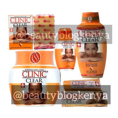 Clinic Clear Swiss Formula Whitening Soap Cream Lotion image 1