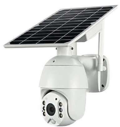 solar camera ptz 4G image 1