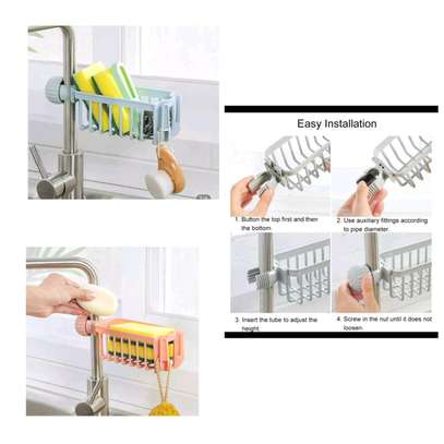 Multifunctional  Sink Tap Hanging Storage Holder* image 1