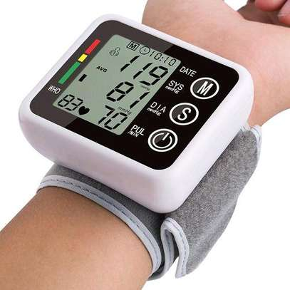 Wrist blood pressure monitor image 1