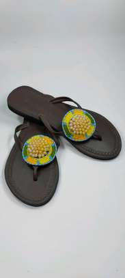 New designes Handcrafted ladies sandal , custom designed & made to last ?. image 2