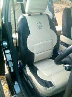 Well stitched car seat covers image 4