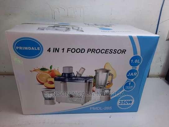 4 in 1 Food Processor image 2