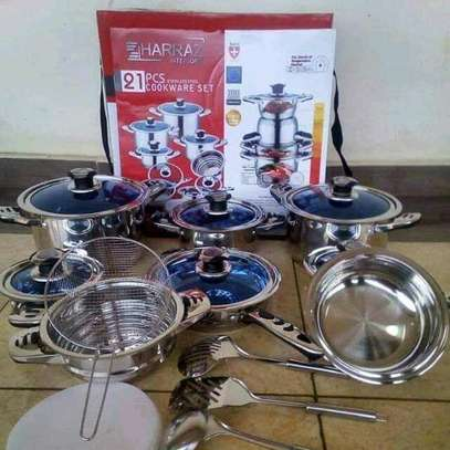 Stainless steel sufuria image 1