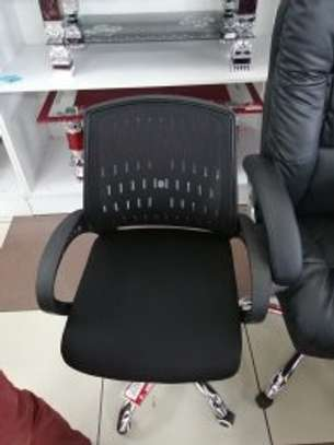 OFICE CHAIRS WITH HEAD REST image 2