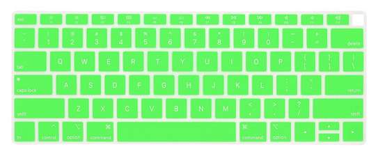 2018 2019 MacBook Air Keyboard Cover Skin for Newest MacBook Air 13-Inch with Touch ID Version Model A1932 Silicone Water-Proof Protector US Layout. image 4