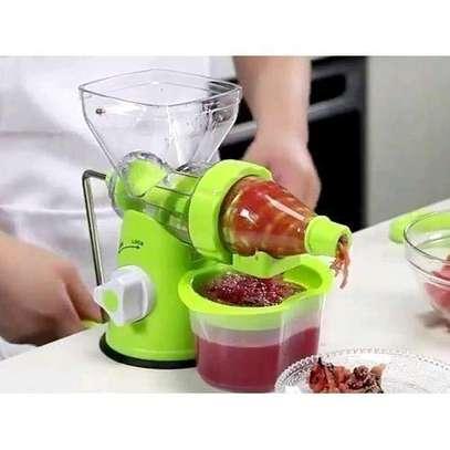 Effective Blender- multi function manual Juicer- fruits and vegetable image 1