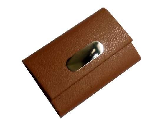 Brown cardholder image 1