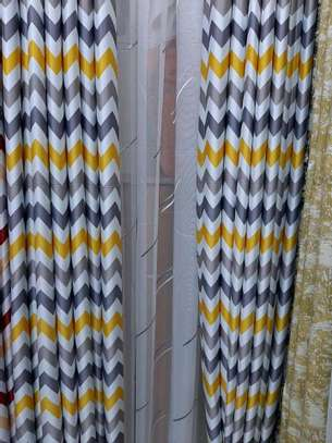 HEAVY GREY THEME QUALITY  FABRIC CURTAINS image 4