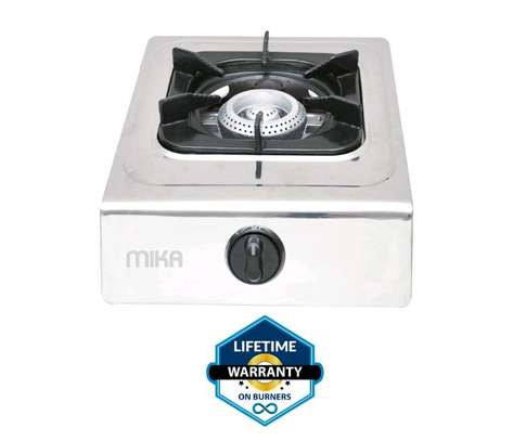 Mika Gas Stove, Table Top, Stainless steel, Single Burner image 1