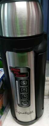 Stainless steel vacuum thermos image 1