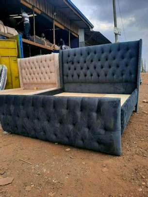 Stylish Contemporary Upholstered 5by6 Bed image 2