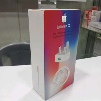 iPhone USB Power Adapter and cable image 2