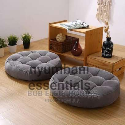 Round Floor Pouf Pillows image 2