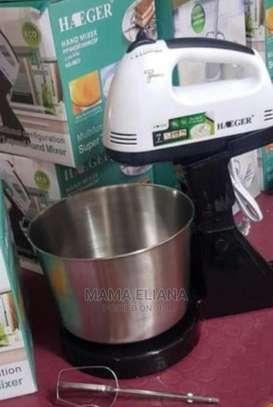 Brand-New Handmixer With Bowl image 1