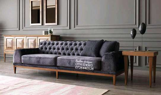 Three seater sofa/modern sofas/Chesterfield sofas image 1