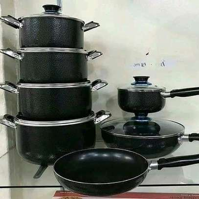 13pc signature nonstick sufuria/Nonstick sufuria/cookware set