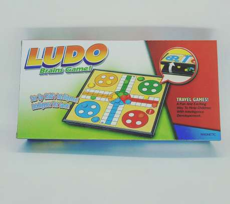 Family Kids Magnetic Ludo Board Games image 1