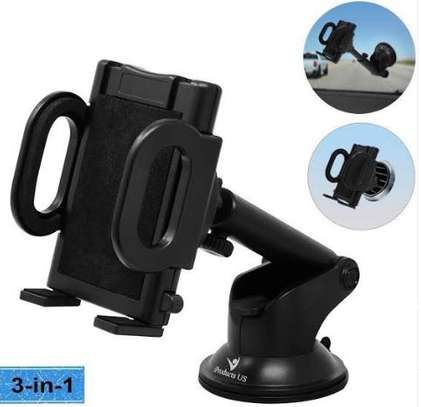 NEW Car phone holder with Sunction image 1