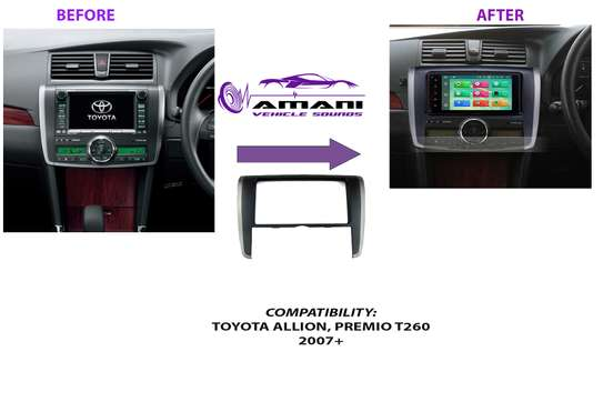 Double Din Stereo Console For Toyota Premio T260 /Allion 2007 To 2010 image 2