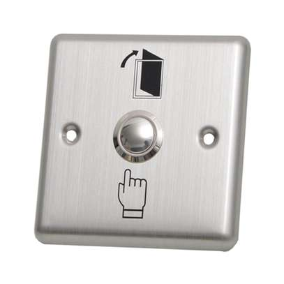 Exit push button for access control image 1