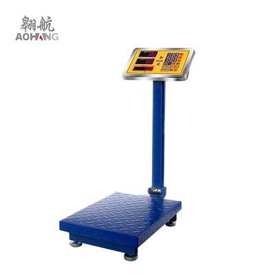 Digital 100kg weighing eletronic platform scale waterproof image 1