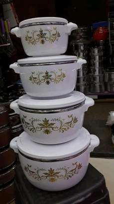 Hot pot/4pc hot pot/4pc insulated Casserole hot pot image 1