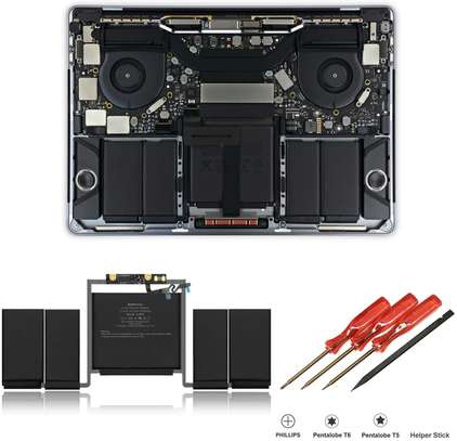 """Original New 821-01648-A for Macbook Pro Retina 15"""" A1990 Battery Daughter Board Cable 2018 Year MR932 MR942 image 1"""