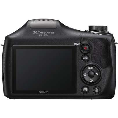 Sony Cyber-Shot DSC-H300 Digital Camera (Black) image 4