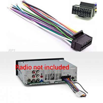 Sony Car Stereo Wiring Harness.