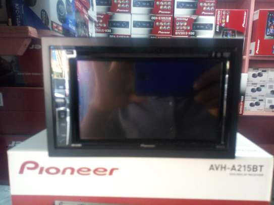Pioneer AVH-A215BT fitted in mitsubishi