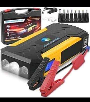 Portable car Jumper Start Kit with Tyre Inflator/Air compressor