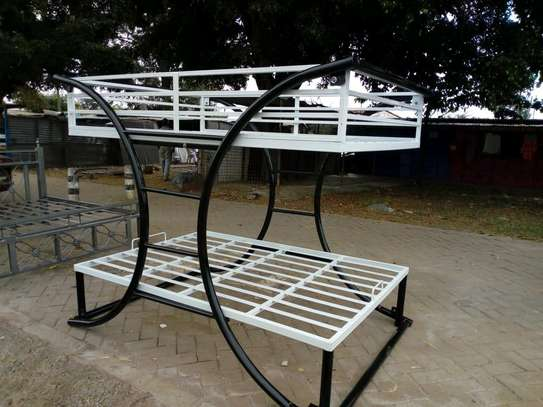 Metallic Double beds for sale. image 6