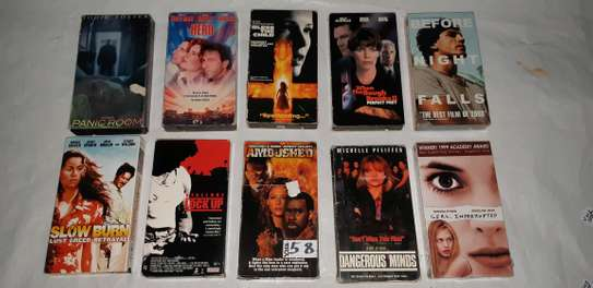 ORIGINAL USED DVDS MOVIES AND VHS MOVIES CASSETTES. image 7