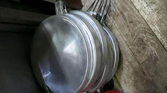 Alminium chapati pan/chapati pan/jua kali chapati pan image 2