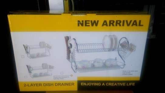 2layer dish drainer image 1