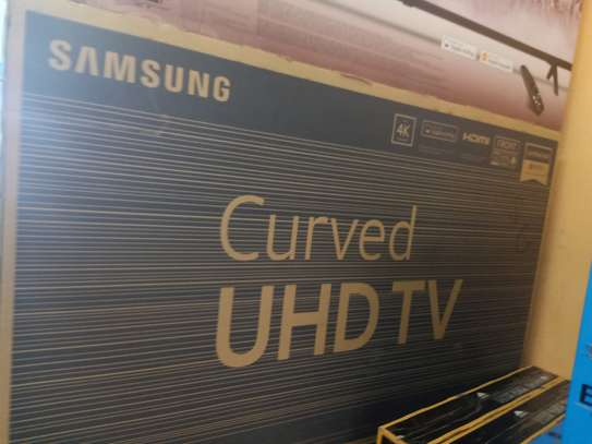 Samsung 55 smart curved uhd tv