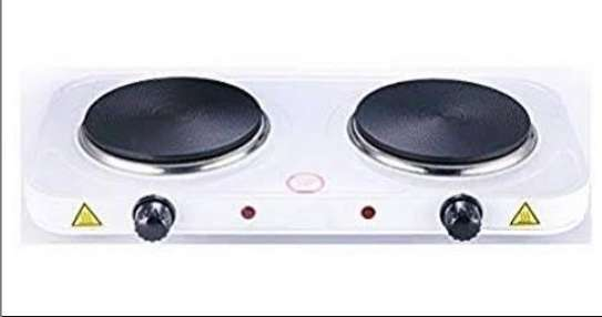 Spacious Double electric hot plate image 1