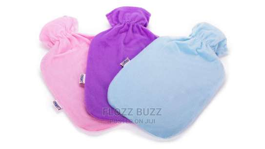 2L Large Hot Water Bottles With Cover image 2