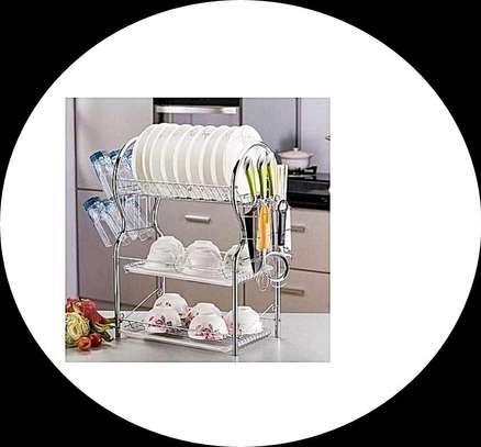 3 Tier Stainless Steel Space saver Dish Drainer