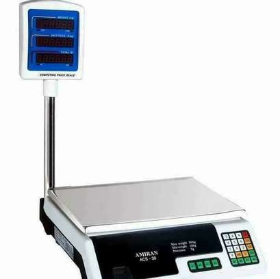 ACS 30KG Digital Weighing Scale image 1