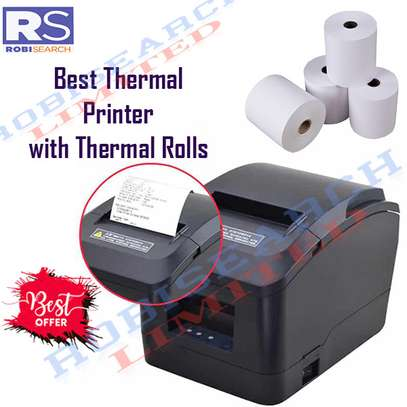 Best Thermal Printer With Thermal Rolls image 1