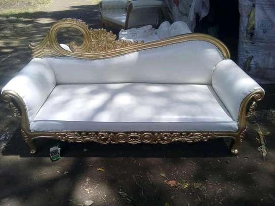 Elegant Beautiful Quality 3 Seater Antique Sofa Bed image 1