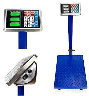 300KG Digital Platform Scale Electronic Scales Shop Market Commercial Postal image 1
