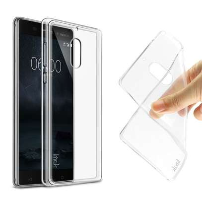 Clear TPU Soft Transparent case for Nokia 6/6 2018 image 6