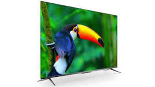New TCL 55 inches IPQ-TV 55P725 Android Smart UHD-4K Frameless Digital TVs image 1
