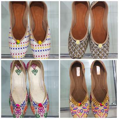 Indian Wear Mojris Doll Shoes