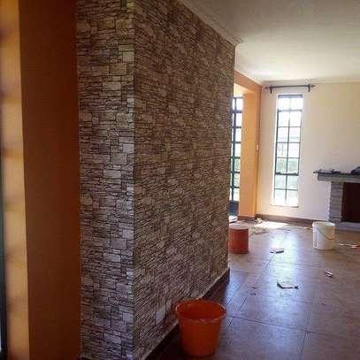 foam self adhesive wallpaper brick image 2