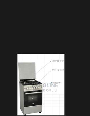 4 Gas Burner With Electric Oven image 1